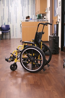 Brochure Wheelchair