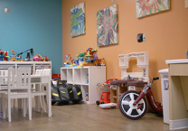 play area in Pediatric unit